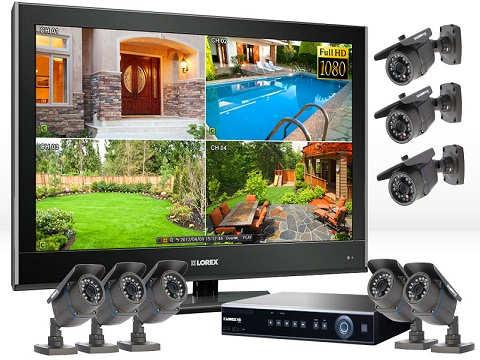 установка систем видео наблюдения