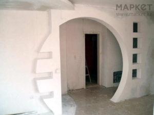 арки перегородки из гипсокартона