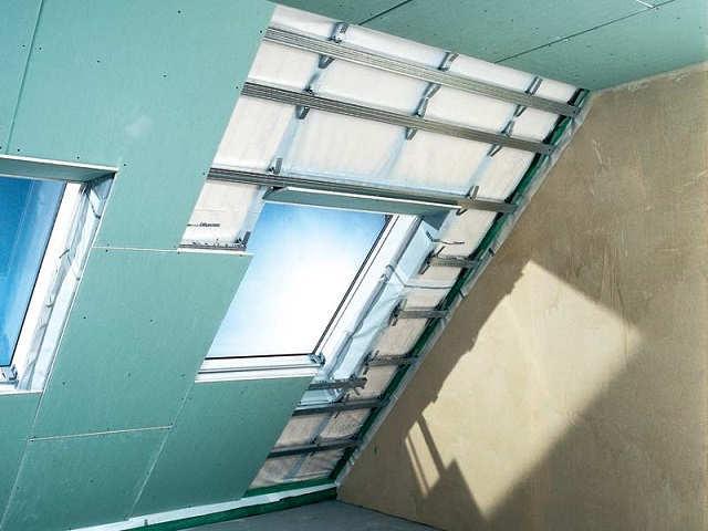 гкл потолок из листов кнауф