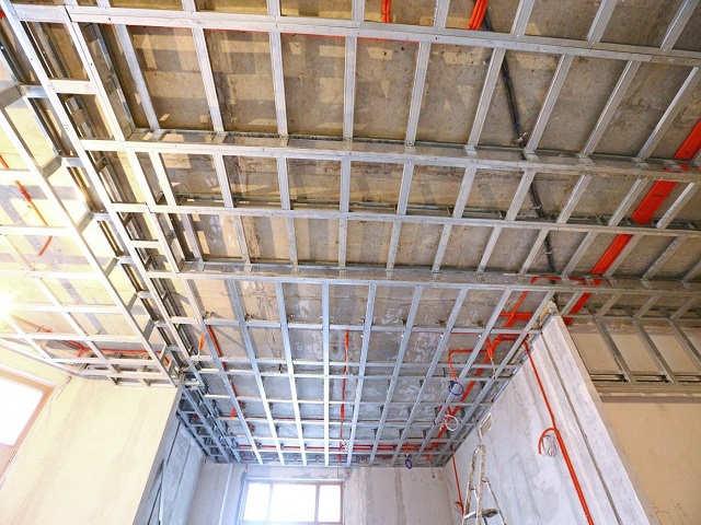 каркас потолка под гипсокартон