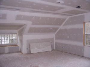 отделка стен гипроком в доме