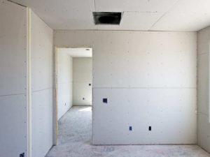 отделка стен гипроком в квартире