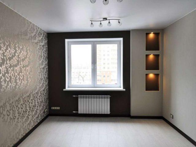 Новый Оккервиль, Белый матовый потолок, 1 люстра, Цена 5900 рублей